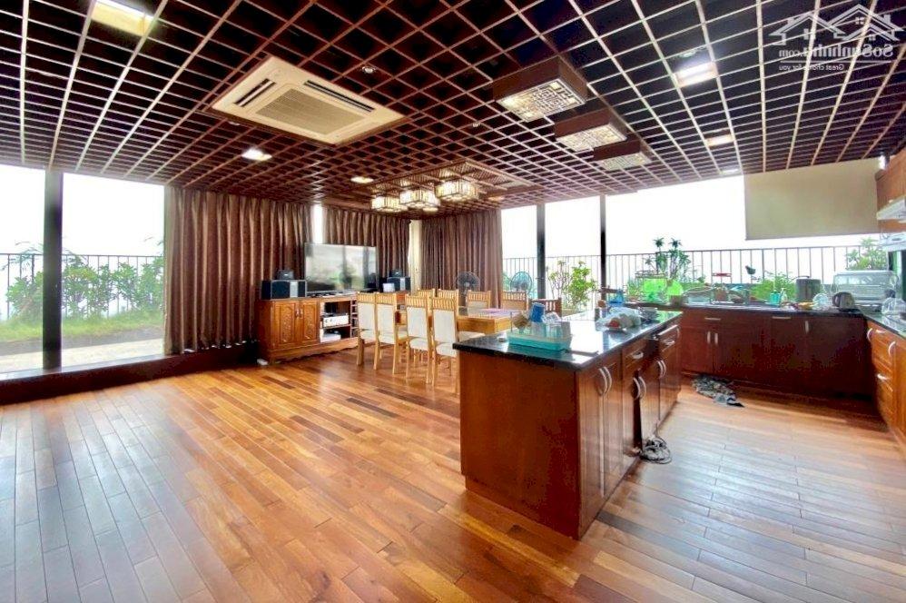 Bán nhanh Penhouse 3 tầng siêu đẹp tòa Packexim 1, 550m2 sân vườn rộng view sông Hồng! - 0974606535