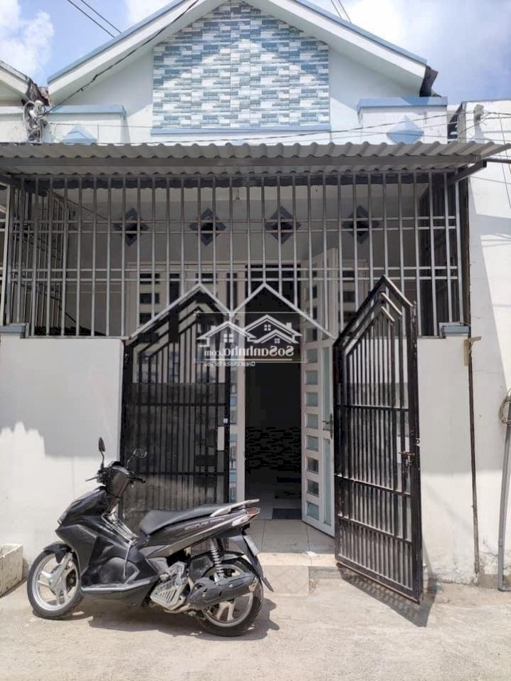 Cho thuê nhà trệt mới 4,5x18 2pn hẻm Hồ Búng Xáng