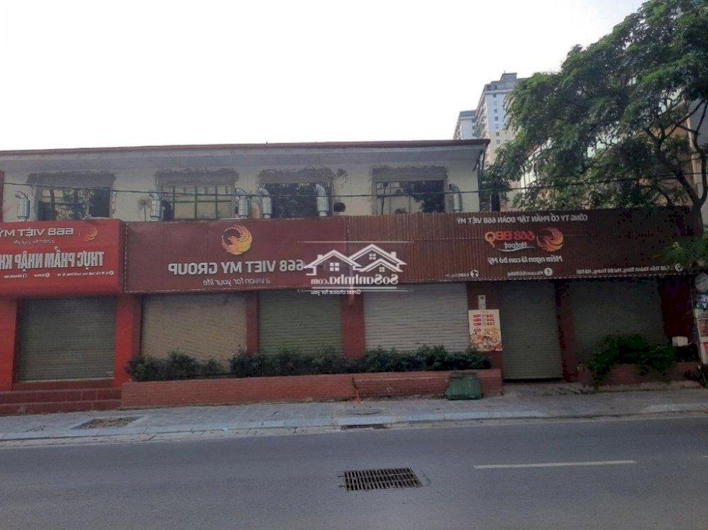 Cho thuê nhà mặt phố Trần Thánh Tông, 400m2 x 2T