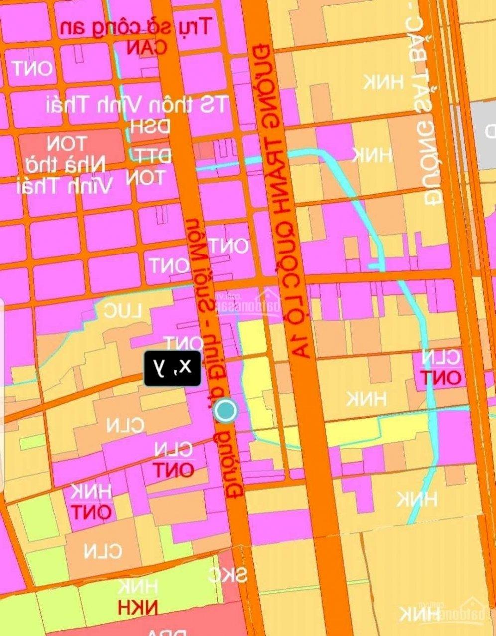 Bán Lô đất MT đường 42m tuyến đường kết nối từ khu CN Suối Dầu đến TP Cam Ranh. Vị trí tiềm năng