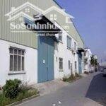 Cho Thuê Nhà Xưởng Diện Tích 8.600M2 Kcn Quế Võ – Giá 2,8$/M2