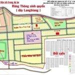 Cần Bán Lô Đất Khu Biệt Thự Langbiang Town, Vị Trí View Vườn Hoa Và Trung Tâm Thương Mại