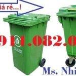 Thùng Rác 240 Lít Sỉ Giá Rẻ Tại An Giang- Lh 0911082000- Nhiên