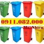 Nơi Cung Cấp Thùng Rác Nhựa Giá Rẻ,Thùng Rác Y Tế, Thùng Rác Công Cộng- Lh 0911082000