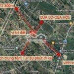 Đất Xom 9 Nghi Phú Nghi Lộc Nghệ An 85M2 Giá 500