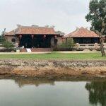 Bán Nhà Vườn 4000M2 Xã Tân Hiệp, Hóc Môn. View Sông Thoáng Mát Cho Gia Đình Thư Giãn Cuối Tuần.22Ty