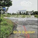 Bán Đất Nền Giá Rẻ 190.Triệu Hẻm Ôtô.
