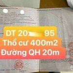 Gấp Mảnh 1539M2 Cách Dt725 200M, Đường Bê Tông 4M ( Đường Qh 20M), Sổ Sẵn, Gia Lâm, Lâm Hà