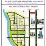 Bán Đất Nền Dự Án Sadeco Phước Kiển A Lô 5X20M Đường 20M Giá 78Tr/M2