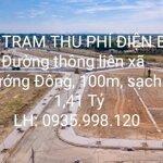 Đường Liên Xã 7M5 Sát Trạm Thu Phí Điện Bàn, 1.41 Tỷ