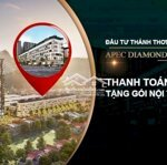 Mở Bán Shophouse Apec Diamond Park Lạng Sơn Ql 1A