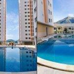 BÁN GẤP căn góc HQC Nha Trang 75 m2 2 phòng ngủ 2 wc ( Gần biển, có hồ bơi...) 1.2 tỷ