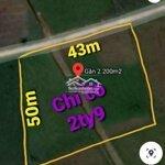 2.200M2 Đất Cây Hàng Năm Củ Chi, Đường Thông