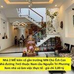 Nhà Đẹp Đường 7M5 Khu Nam Nguyễn Tri Phương