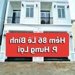 Nhà Đẹp Trẻ Trung Hẻm 86 (6M) Đường Lê Bình