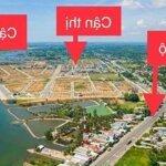 Sở hữu đất vàng Tam Anh ngay trung tâm hành chính, mặt tiền sông, liền kề biển giá 9tr/m2