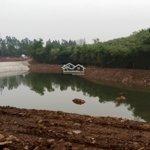 Cần bándiện tích1,3ha đất có hồ suối địa thế gối sơn đạp thủy tuyệt đẹp