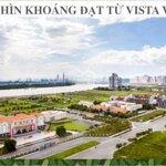 Bán nền đất 384m2 biệt thự đường 20m khu thạnh mỹ lợi - 68 triệu/m2 - 0908.947.618