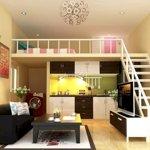Căn hộ chung cư nhà ở xã hội 1 trệt, 1 gác lửng