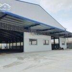Bán kho xưởng trong khu công nghiêp tân đức, long an, diện tích 10.000m2, giá bán 34 tỷ