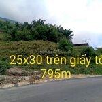 Bán 795m đất xã sử pán, sapa, giá 1,2 tỉ