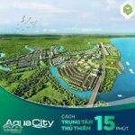Pkd novaland giới thiệu 110 căn biệt thư 300m2 aqua city - chỉ 12,6 tỷ/căn/thanh toán 33 tháng