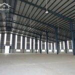 Cho thuê nhà xưởng tại hà nam, thanh liêm 5.050m đến 12.000m