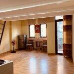 Cho thuê căn hộ gác lửng mới - full nội thất mới