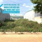 Bán đất tc 5*24m,hẻm ymoan,ngay thành đồng 1,nhiều lô khác giá từ 595 triệu đến 1 tỷ 200 triệu