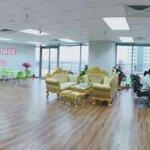 Bán sàn văn phòng lâu dài đã hoàn thiện đẹp, tiện ích hiếm có tại quận hà đôngdiện tích450m2