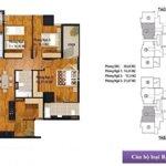 Thanh lí căn hộ 3 phòng ngủ126m2 thông thủy giá 2.58 tỉ dự án new skyline văn quán. cắt lỗ 750 triệu.