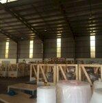 Cho thuê 1700m2 nhà xưởng tại kcn thạch thất - quốc oai