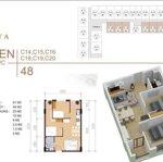 Căn hộ chung cư 48m² 2pn