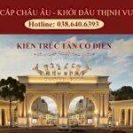 đầu tư đất nềnkhu đô thịdanko city, chùa hang, ngay ql1b,mặt tiền6m, dài 16m, còn vài lô mặt đường lớn