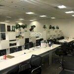 Cho thuê sàn văn phòng tại royal tòa r6 s=150m2- 370m2 đã có full đồ văn phòng chỉ việc đến làm