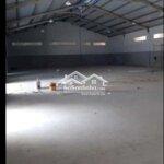 Kho xưởng mới xây dựng 600m² đường container