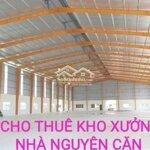 Cho thuê kho xưởng 150_250_350m2