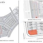 Bán lô góc lk 24-39 phân khu 4 khu nhơn hội new