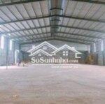 Chothuê kho mới xây dựng 500,1000,1500m2 giá 35/m2