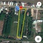 Cần bán đất mặt tiền quốc lộ 80 bình giang hòn đất kiên giang diện tích 21x155m giá bán 1.45 tỷ, liên hệ: 0909865538