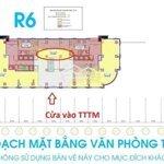 Cho thuê sàn văn phòng tại royal tòa r6diện tích110m2 ngay tầng 1 lên mặt đường nguyễn trãi vị trí vàng