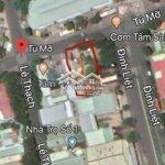 Cho thuê 270 m² đất mặt tiền tú mỡ sau bến xe tttp