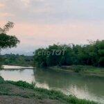 đất huyện hòa vang 1.421m², mặt tiền sông tuý loan