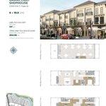 Aquacity - the valencia shophouse trục đường 45m ưu đãi đặc biệt trong tháng 4
