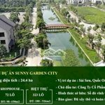 Nhà vườn sunny garden city 180m² giá bán 5.6 tỷ