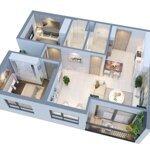 Bán căn hộ hai phòng ngủ giá tốt tại vinhomes new center