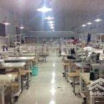 Chuyển nhượng toàn bộ nhà xưởng và máy móc công ty may xuất khẩu tại thành phố thái nguyên