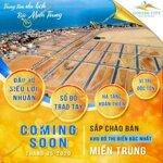 Chính thức ra mắt dự án đất biển gosabe đã có sổ giá chỉ từ 16 triệu/m2