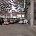 Cho thuê kho xưởng dt 12.000m2 kcn lương sơn hòa bình