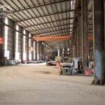 Chính chủ cho thuê kho xưởng dt: 4500m2 tại xuân mai, hòa bình